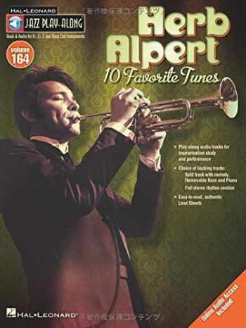 9781458437037-1458437035-Herb Alpert - Jazz Play-Along Volume 164 (Bk/Online Audio)