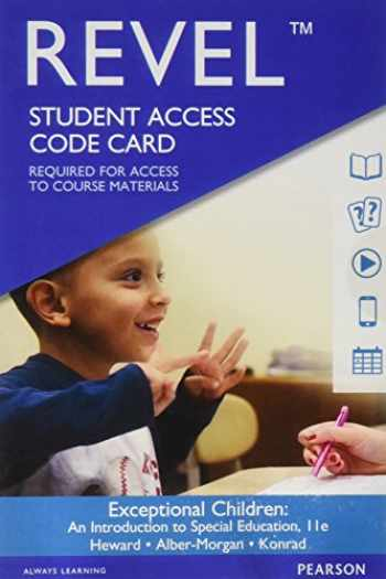 9780134303284-0134303288-Revel for Exceptional Children: An Introduction to Special Education -- Access Card