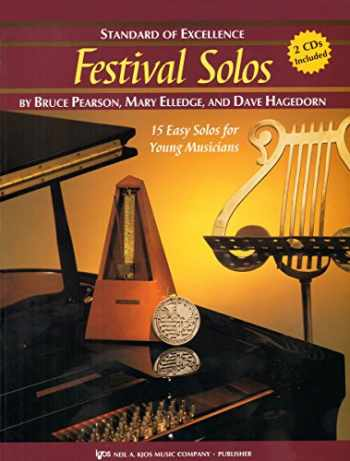 9780849756726-0849756723-W28TP - Standard of Excellence - Festival Solos Book/CD - Trumpet