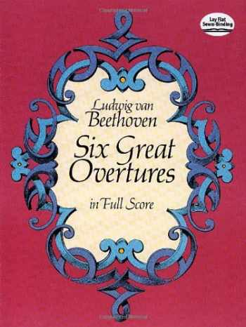 9780486247892-0486247899-Six Great Overtures in Full Score (Dover Music Scores)