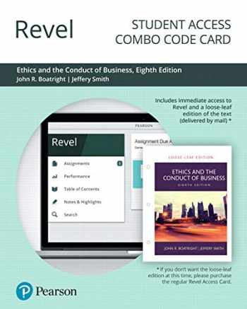9780135175767-0135175763-Revel for Ethics and the Conduct of Business -- Combo Access Card