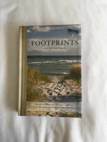 9781432113964-1432113968-366 Devotions Footprints Devotional Large Print