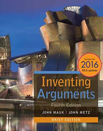 9781337280860-1337280860-Inventing Arguments with APA 7e Updates (Inventing Arguments Series)