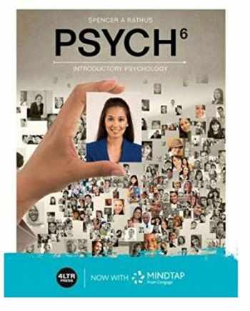 9780357601792-0357601793-PSYCH (with MindTap, 1 term Printed Access Card and APA Card)