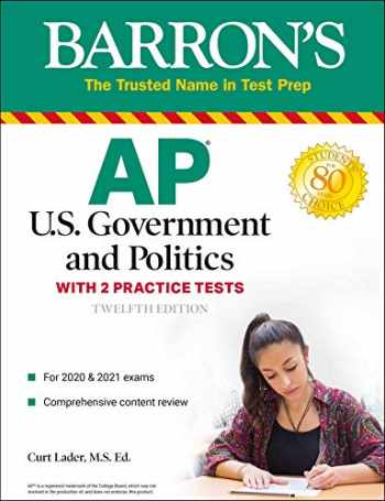 9781506261997-150626199X-AP US Government and Politics: With 2 Practice Tests (Barron's Test Prep)
