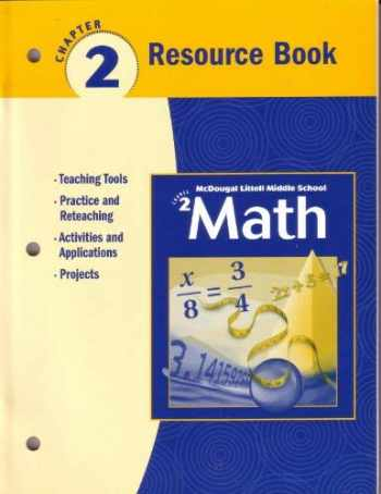 Mcdougal littell geometry chapter 2 resource book answers