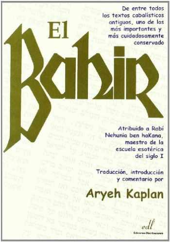 9788495593221-849559322X-El Bahir (Spanish Edition)