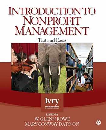 9781412999236-1412999235-Introduction to Nonprofit Management: Text and Cases
