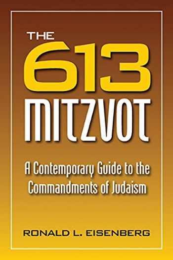 9780884003335-0884003337-613 Mitzvot: A Contemporary Guide to the Commandments of Judaism