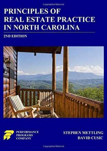 9780915777488-0915777487-Principles of Real Estate Practice in North Carolina: 2nd Edition