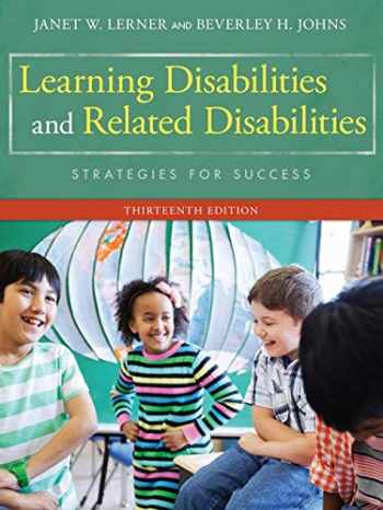 9781285433202-1285433203-Learning Disabilities and Related Disabilities: Strategies for Success
