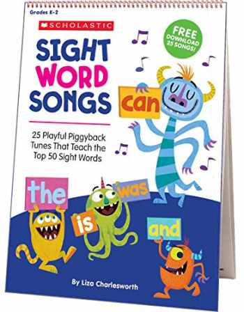 9781338113136-1338113135-Sight Word Songs Flip Chart & CD: 25 Playful Piggyback Tunes That Teach the Top 50 Sight Words