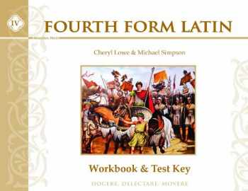 9781615382132-1615382135-Fourth Form Latin, Workbook & Test Key