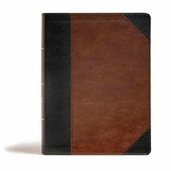9781535971133-1535971134-CSB Tony Evans Study Bible, Black/Brown LeatherTouch, Black Letter, Study Notes and Commentary, Articles, Videos, Ribbon Marker, Sewn Binding, Easy-to-Read Bible Serif Type