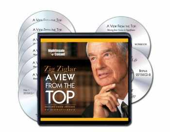 9781633120037-1633120031-A View From The Top (Six Compact Discs, Writable PDF Workbook & Free Bonus CD-Zig's Secret to Lasting Joy)
