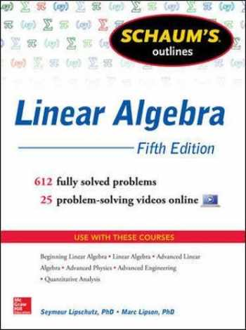 9780071794565-0071794565-Schaum's Outlines Linear Algebra, Fifth Edition: Fifth Edition