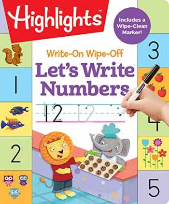 9781684372874-1684372879-Write-On Wipe-Off Let's Write Numbers (Highlights Write-On Wipe-Off Fun to Learn Activity Books)