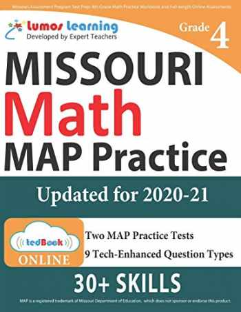9781945730610-1945730617-Missouri Assessment Program Test Prep: 4th Grade Math Practice Workbook and Full-length Online Assessments: MAP Study Guide