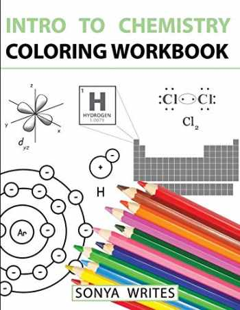 9781530439799-1530439795-Intro to Chemistry Coloring Workbook