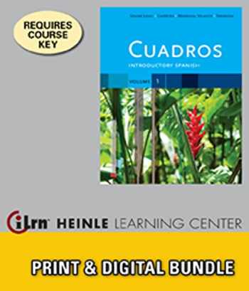 9781133497998-1133497993-Bundle: Cuadros Student Text, Volume 1 of 4: Introductory Spanish + iLrn™ Heinle Learning Center, 1 term (6 months) Access Code