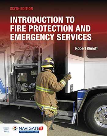 9781284180152-1284180158-Introduction to Fire Protection and Emergency Services