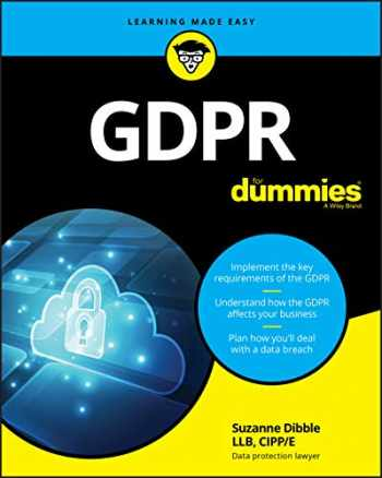 9781119546092-1119546095-GDPR For Dummies