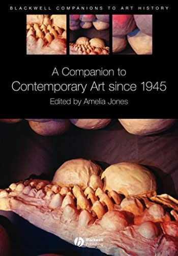 9781405135429-1405135425-A Companion to Contemporary Art Since 1945