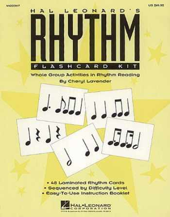 9781480355750-1480355755-Hal Leonard's Rhythm Flashcard Kit
