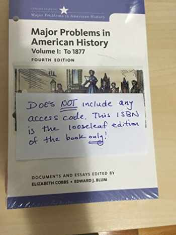 9781305865297-1305865294-Major Problems in American History: 1