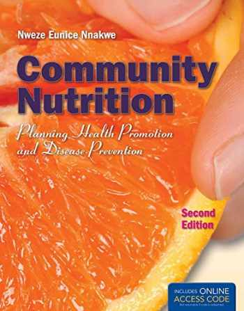 9781449652937-144965293X-Community Nutrition: Planning Health Promotion and Disease Prevention