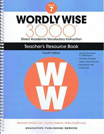 9780838877203-0838877206-Wordly Wise, Book 7: 3000 Direct Academic Vocabulary Instructions: Teachers' Resource Book