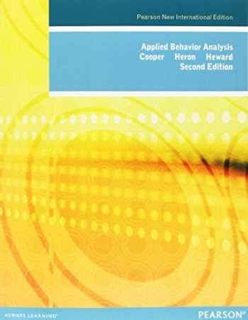 9781292023212-129202321X-Applied Behavior Analysis: Pearson New International Edition