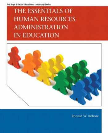 9780137008537-0137008538-Essentials of Human Resources Administration in Education, The (Allyn & Bacon Educational Leadership)