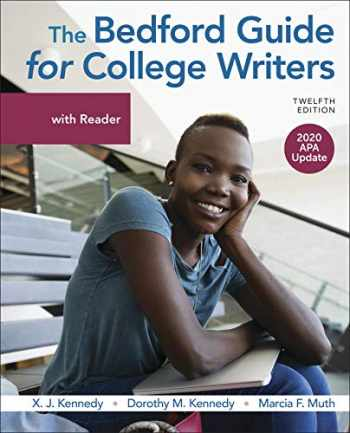 9781319368197-1319368190-The Bedford Guide for College Writers with Reader, 2020 APA Update