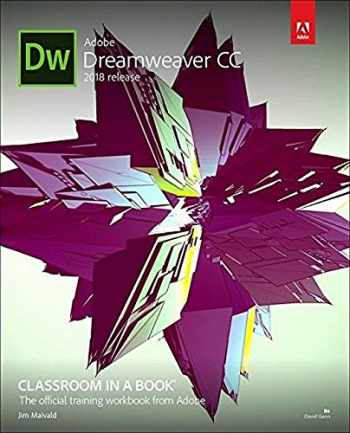 9780134852522-0134852524-Adobe Dreamweaver CC Classroom in a Book (2018 release)