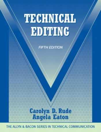 9780205786718-0205786715-Technical Editing (5th Edition) (The Allyn & Bacon Seriesin Technical Communication)