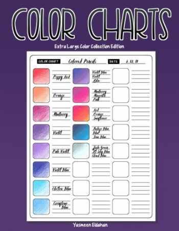 9781546412090-1546412093-Color Charts XL: Color Collection Edition