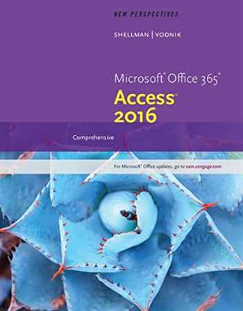 9781305880139-1305880137-New Perspectives Microsoft Office 365 & Access 2016: Comprehensive