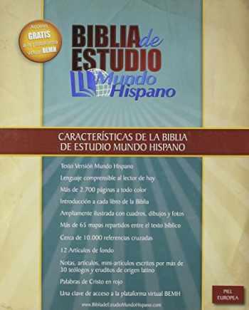 9780311488919-0311488919-Biblia de Estudio Mundo Hispano (Tapa Piel Europea) (Spanish Edition)