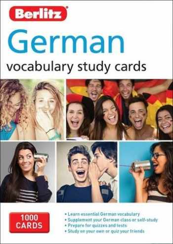 9781780044675-1780044674-Berlitz Language: German Study Cards (Berlitz Vocabulary Study Cards)