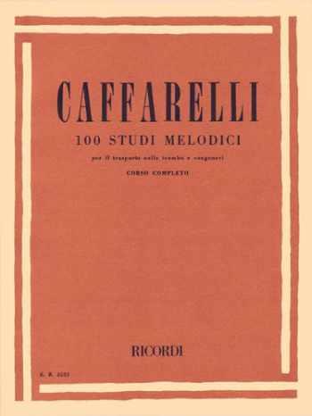 9781480304833-1480304832-1Oo Studi Melodici Per Il Trasporto Trumpet Method Italalso For Related Brass Inst