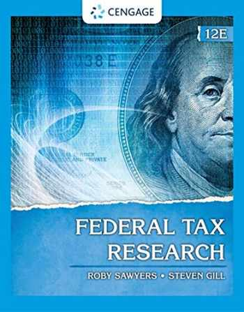 9780357366387-0357366387-Federal Tax Research