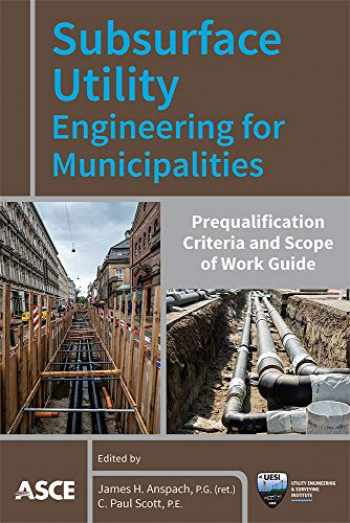 9780784415368-0784415366-Subsurface Utility Engineering for Municipalities