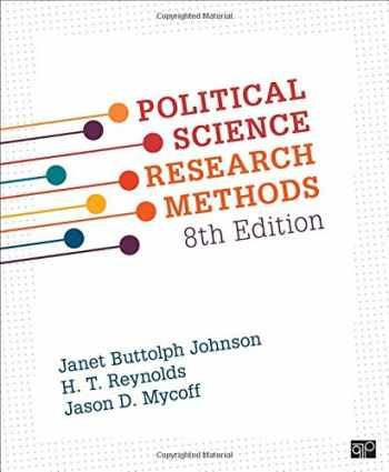 9781506307824-1506307825-Political Science Research Methods
