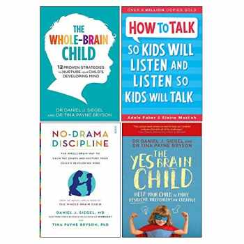 9789123801671-9123801670-Whole-Brain Child, How To Talk So Kids Will Listen And Listen So Kids Will Talk, No-Drama Discipline, Yes Brain Child 4 Books Collection Set