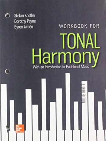 Sell, Buy or Rent Workbook for Tonal Harmony with Connect ...