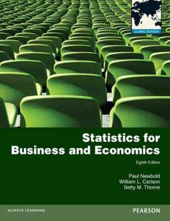 9780273767060-0273767062-Statistics for Business and Economics