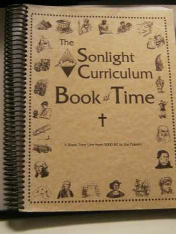 9781887840248-1887840249-The Sonlight Curriculum Book of Time: A Blank Time Line From 5000 BC to the Present
