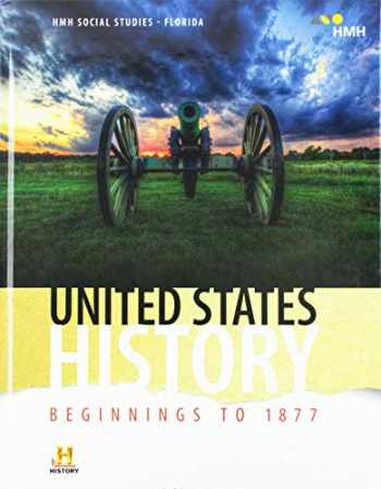 9781328739599-1328739597-HMH Social Studies: United States History: Beginnings to 1877: Student Edition Grade 8 2018