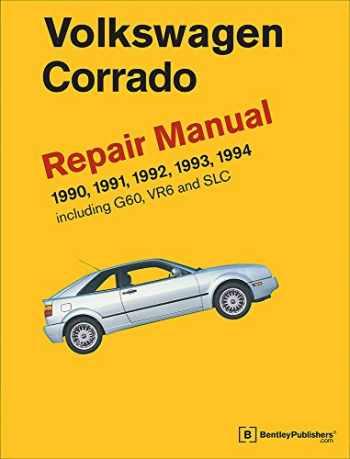 9780837616995-0837616999-Volkswagen Corrado (A2) Repair Manual: 1990-1994
